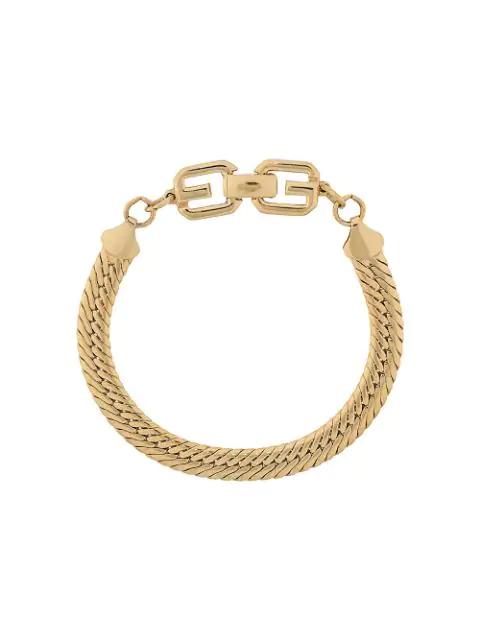Givenchy '1980S Link Bracelet In Gold