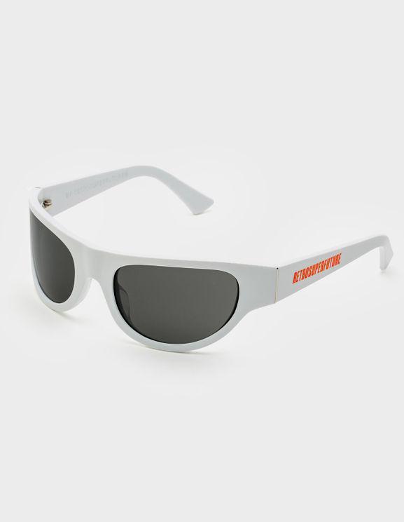 Retrosuperfuture Oversized Sunglasses In Grey