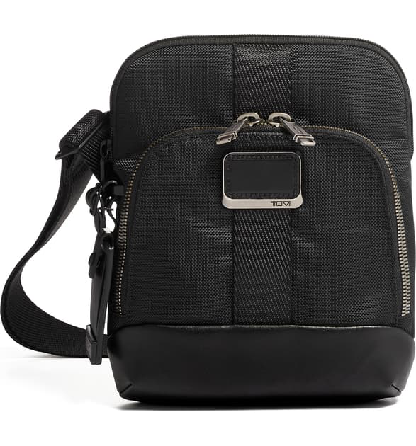 Tumi Alpha Bravo Barksdale Black Crossbody Bag