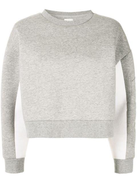 Aje Gestricktes Sweatshirt - Grau In Grey