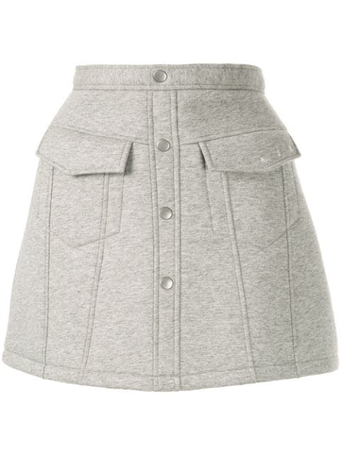 Aje Schmaler Rock - Grau In Grey