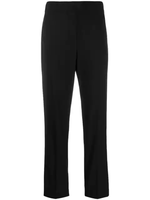 Brunello Cucinelli Cigarette Trousers In Black