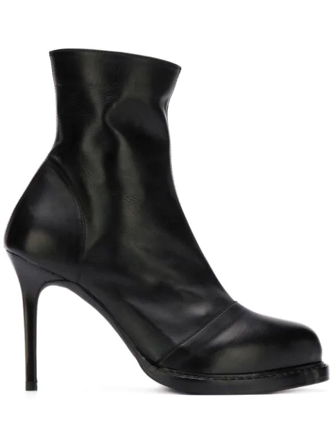 Ann Demeulemeester High-heel Ankle Boots In Black