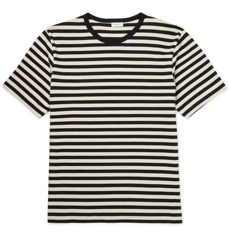 156982189eb9 Dries Van Noten Hunt Slim-Fit Striped Cotton-Jersey T-Shirt   ModeSens