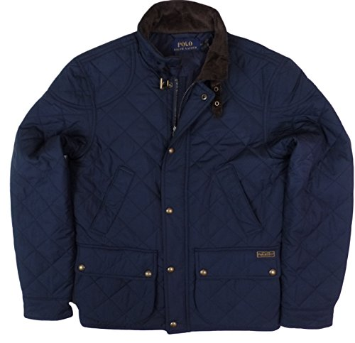 72607fdc0 Polo Ralph Lauren Mens Quilted Insulated Winter Jacket In Navy ...