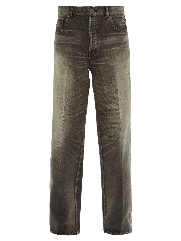 Balenciaga Relaxed-leg Jeans In Multi