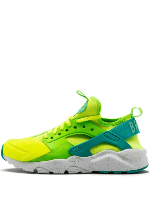 Nike Air Huarache Run Ultra Sneakers In Green