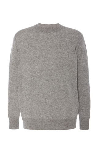 The Elder Statesman Tranquility Cashmere Sweater In Grey