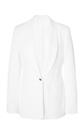 Joseph Kwatu Crepe Blazer In White