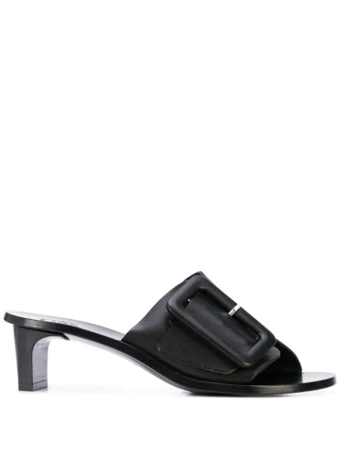 Atp Atelier Cacao Heeled Sandals - Black