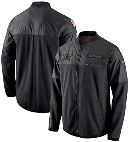 b2695a4c9 Nike Men's Dallas Cowboys Salute To Service Hybrid Jacket In Blue ...
