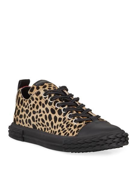 eb48db8a4be9 Giuseppe Zanotti Men's Animal Print Blabber Sneakers - 100% Exclusive In  Leopard