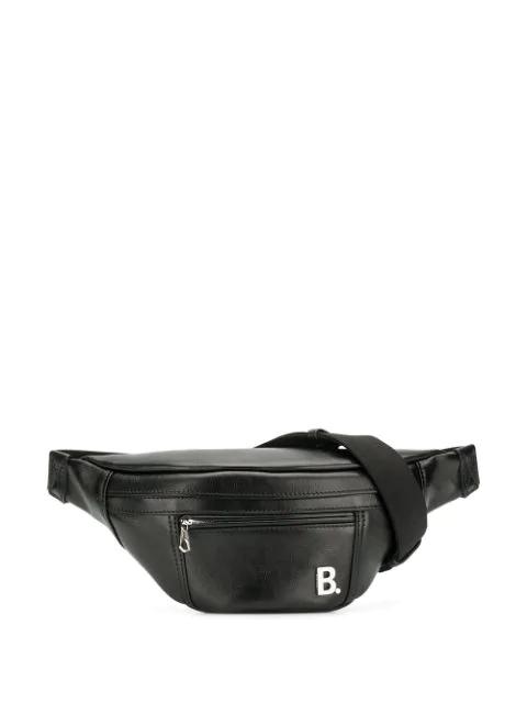 Balenciaga Soft Xs Beltpack In Black