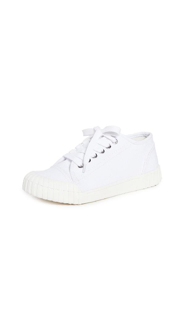 Good News Shoes - Bagger White Cotton Canvas Shoes