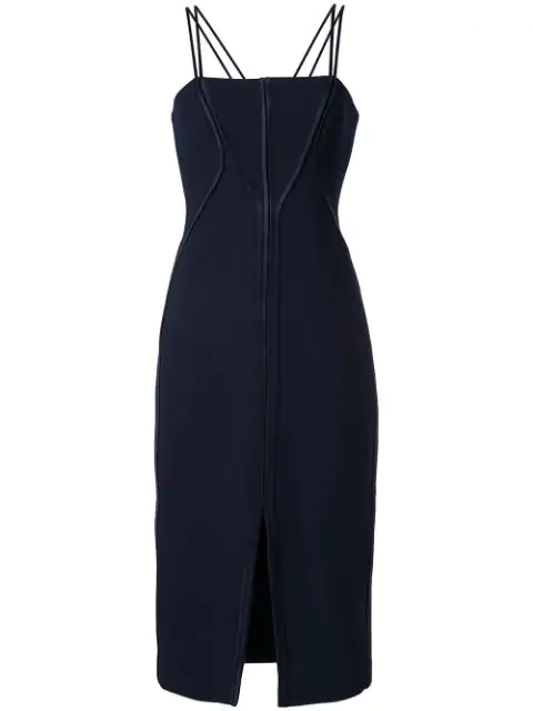 Dion Lee Annex Bustier Dress In Blue