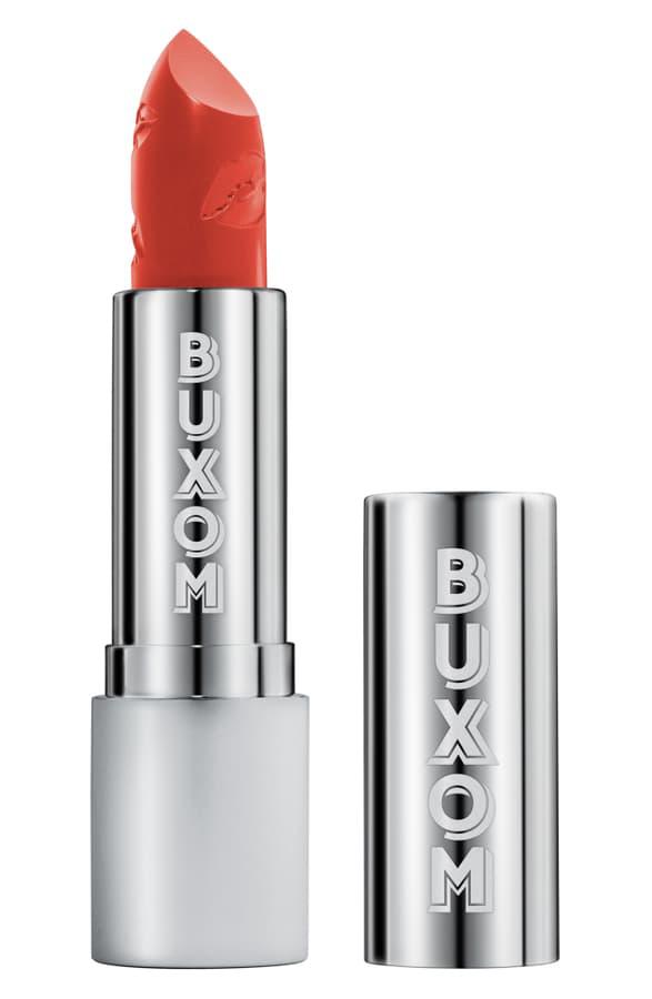 Buxom Full Force Plumping Lipstick In Hot Shot