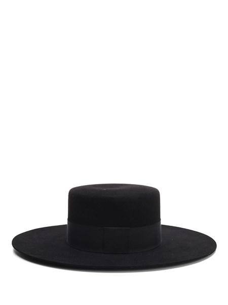 Saint Laurent Black Andalusian Hat