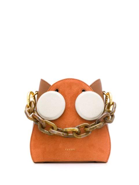 Yuzefi Bucket Style Mini Bag In Orange
