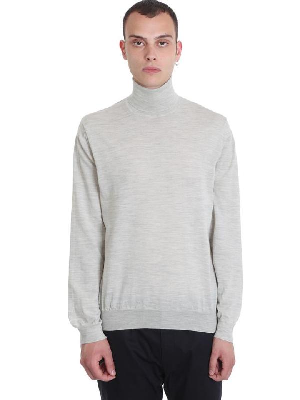 Lanvin Knitwear In Grey Wool