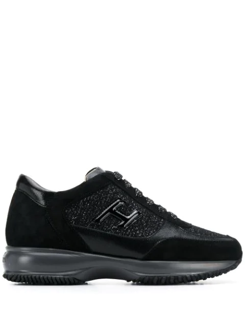 Hogan Interactive Sneakers In Black