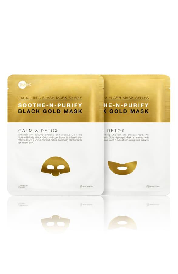 Skin Inc. Soothe-n-purify Black Gold Mask