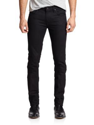 J Brand Mick Skinny-Fit Jeans In Black