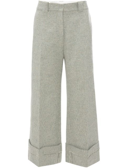 Jw Anderson Wide-Leg Trousers In White
