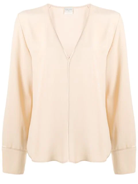 Forte Forte Loose Fit Shirt In Neutrals