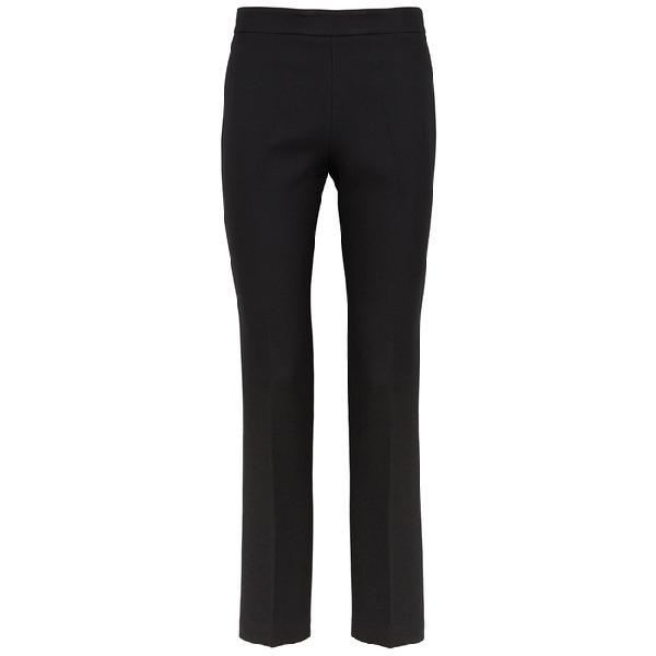 Giambattista Valli Black Slim-Leg Wool Trousers