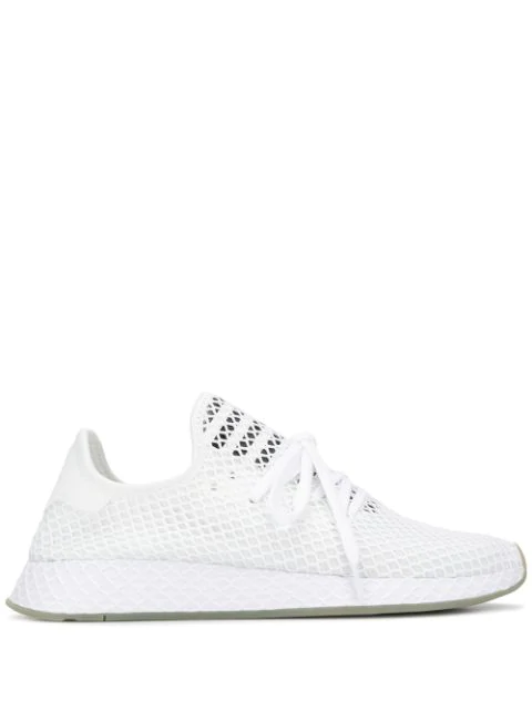 cosecha Consejo Posdata  Adidas Originals Adidas Deerupt Mesh Trainers - White   ModeSens