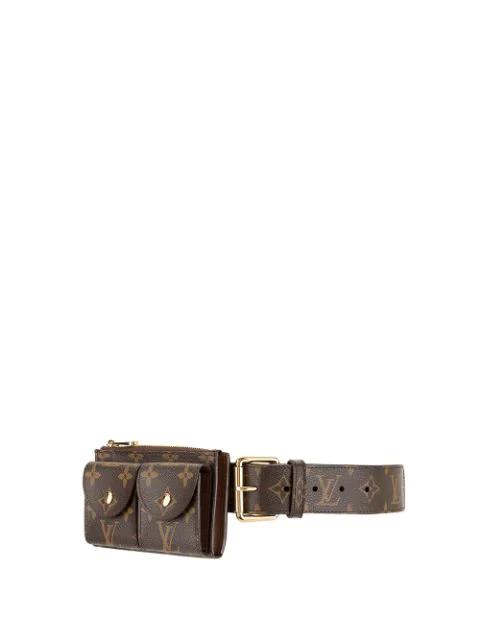 Pre-owned Louis Vuitton  Ceinture Belt Bag In Brown