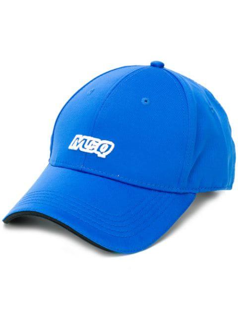 Mcq By Alexander Mcqueen Mcq Alexander Mcqueen Logo Baseball Cap - Blue