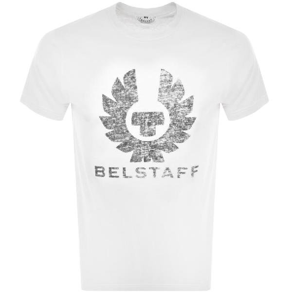 Belstaff Coteland 2.0 Cotton-jersey T-shirt In White