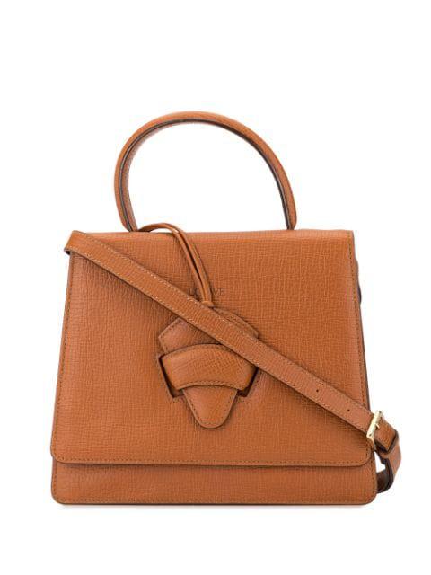 Loewe Barcelona Tote Bag In Brown