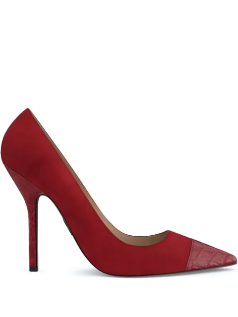 Paul Andrew Pump It Up 105 Pumps In Red