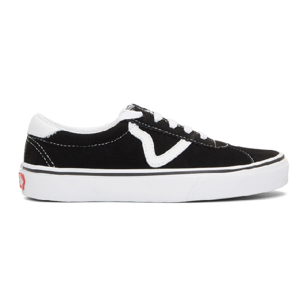 Vans Sport Low Top Sneaker In Black