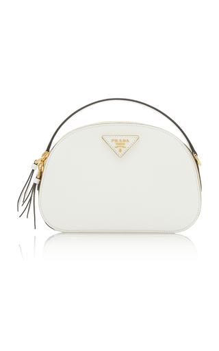 Prada Odette Leather Bag In White