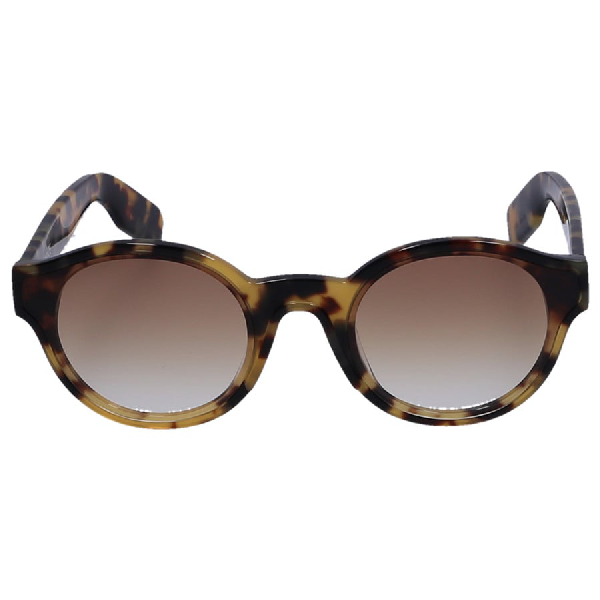 Kenzo Women Sunglasses Round 40008I 57N Acetate Black