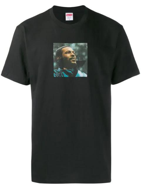 Supreme Marvin Gaye T-shirt In Black
