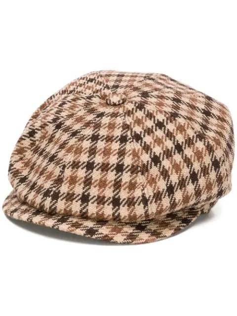 Tagliatore Bill Hat In Brown