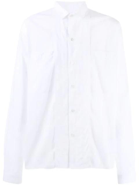 Ann Demeulemeester Dress Shirt In White