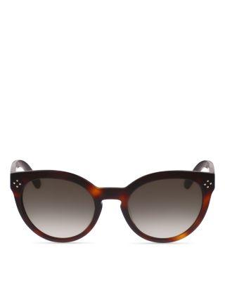 264b7b97bc7 CHLOÉ Boxwood Modified Cat-Eye Sunglasses