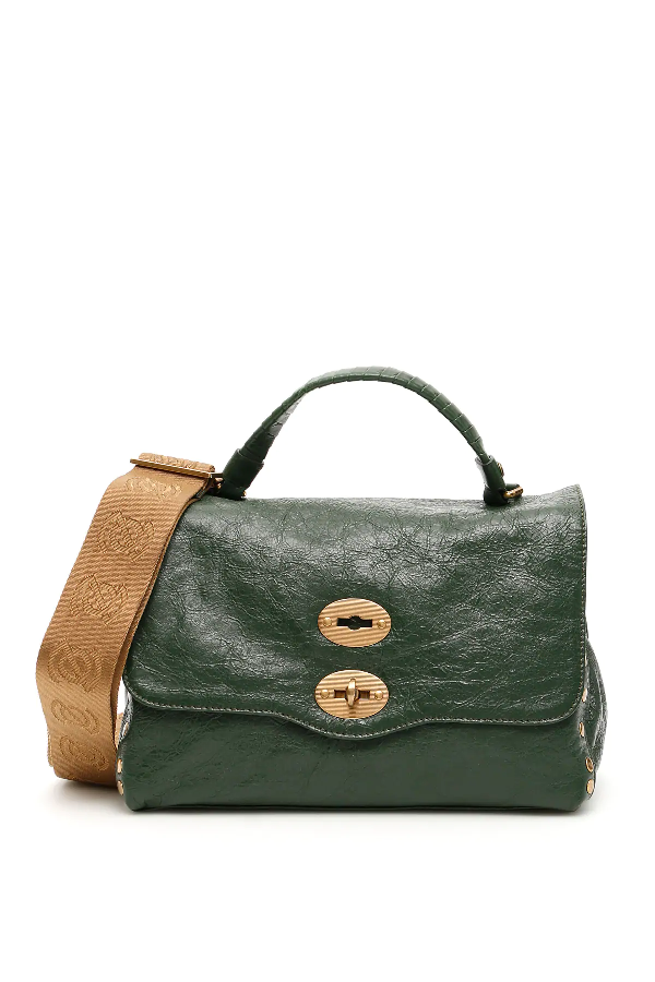 Zanellato Lustro Postina S Bag In Green