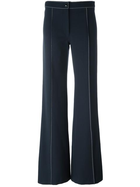 Lemaire Flared Pants - Blue