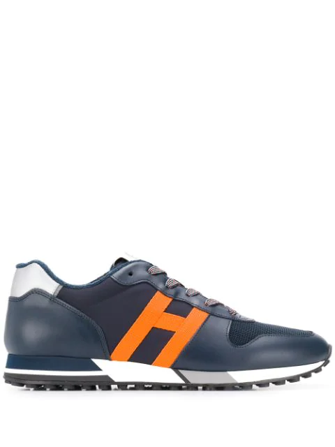 Hogan Low Top Lace Up Sneakers In 691Q