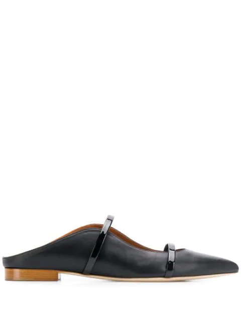 Malone Souliers Maureen Flat Loafers In Black