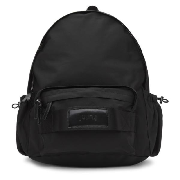 Juun.j Black Plain Backpack