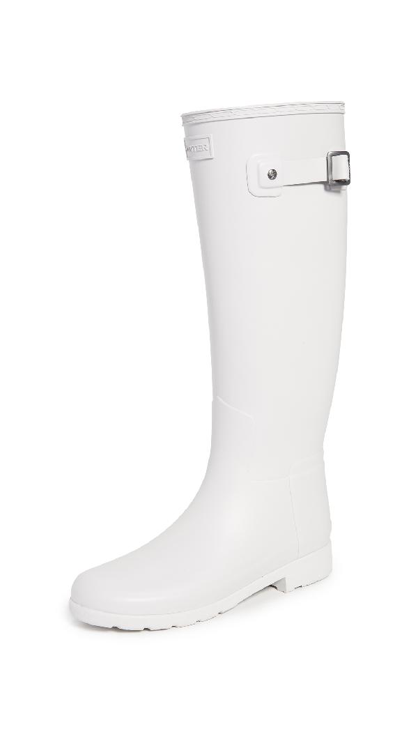 3eccd09b0 Hunter Original Refined Waterproof Rain Boot In Clatter Grey | ModeSens