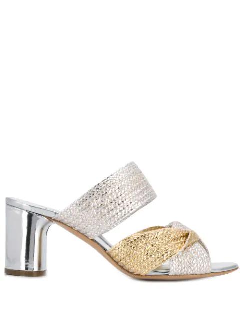 Casadei Argento Sandals In Silver