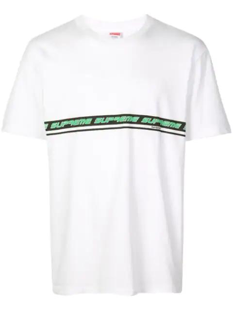 Supreme Logo T-shirt In White